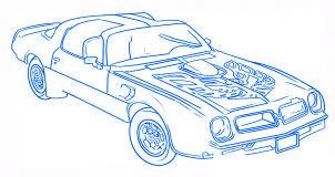 dessiner une voiture Pontiac Firebird - etape 6