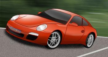 Comment dessiner une voiture porsche carrera 911 allodessin for Plans de dessins de porche