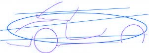 dessiner une voiture Lotus Elise - etape 2