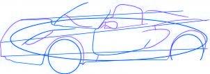 dessiner une voiture Lotus Elise - etape 3