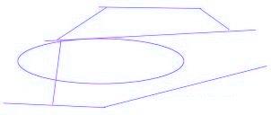 dessiner une voiture de course Nascar - etape 1
