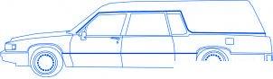 dessiner une voiture corbillard - etape 4