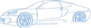 dessiner une voiture de course Ferrari 599 GTO - etape 5