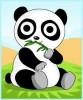 dessin de panda de dessin anime