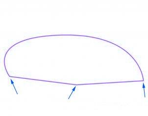 dessiner une voiture decapotable - etape 2