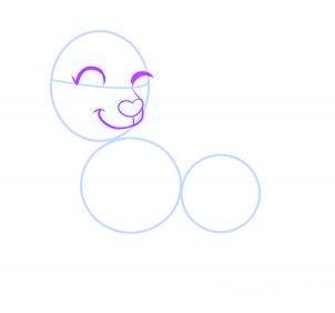 dessiner un chien de dessin anime - etape 5