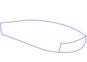 dessiner une voiture de sport Ferrari - etape 1