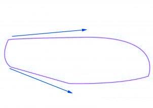 dessiner une voiture de sport Ferrari - etape 2