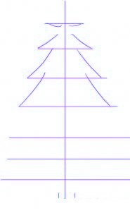 Comment dessiner un sapin de no l allodessin - Comment faire un sapin de noel ...