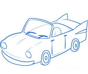 Comment dessiner une voiture 2 allodessin - Voiture facile a dessiner ...