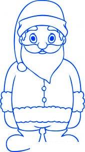 Comment dessiner un p re no l 3 allodessin - Comment dessiner pere noel ...