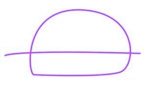 dessiner une voiture de police - etape 1