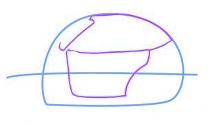 dessiner une voiture de police - etape 2