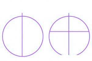 dessiner des boules de noel - etape 1