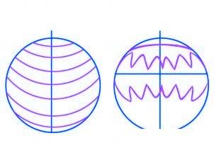 dessiner des boules de noel - etape 2