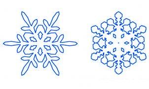 Comment dessiner un flocon de neige de no l 2 allodessin - Dessiner un flocon de neige ...