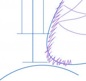 dessiner une scene de noel - etape 2