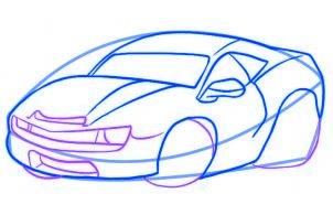 Comment dessiner une voiture de course allodessin - Dessiner voiture de course ...