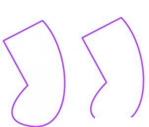 dessiner des chaussettes de noel - etape 1