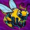 dessin abeille zombie