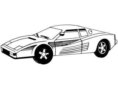 Comment dessiner une voiture allodessin - Dessins voiture ...