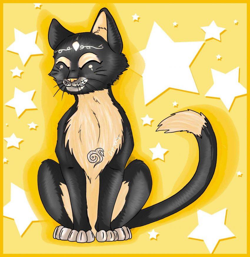 Comment dessiner un chat assis allodessin - Dessin chat assis ...