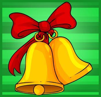 Comment Dessiner Des Cloches De Noël 2 Allodessin
