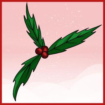 Comment Dessiner Du Houx De Noel Allodessin