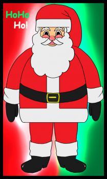 Comment Dessiner Le Père Noël Allodessin